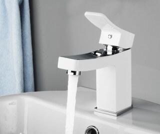 Смеситель для раковины WasserKRAFT Aller 1063WHITE