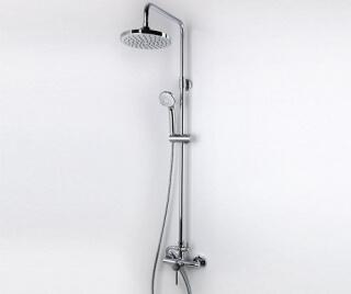 Душевой комплект WasserKRAFT со смесителем для душа 96/133х57 см
