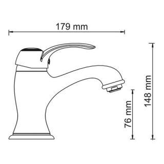 Смеситель для раковины WasserKRAFT Isar 1303