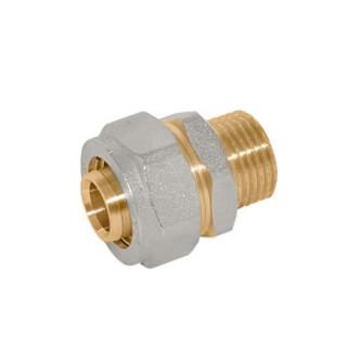 Соединитель 3/4 дюйма M х 20 мм Цанга 530001N052020А