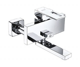 Смеситель для ванны WasserKRAFT с коротким изливом Alme 1501
