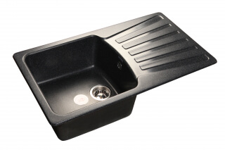 Мойка мрамор STANDART GF-S--850L GRANFEST черный