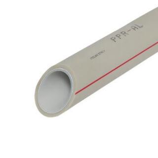 Труба полипропиленовая AL32 PN25 32х4,4 (армированная алюминием) 4 м.
