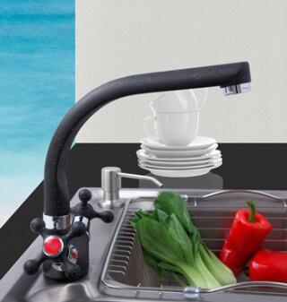Смеситель для кухни MATRIX SMF-823090/BK