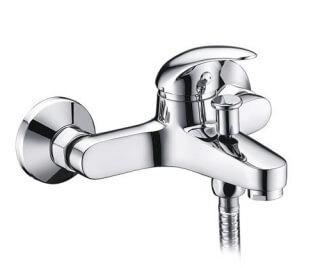 Смеситель для ванны WasserKRAFT  с коротким изливом Isen 2601