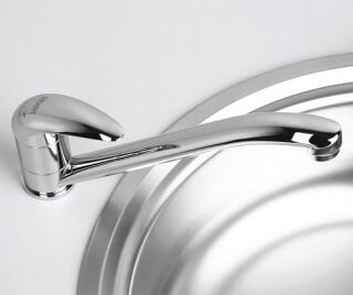 Смеситель для кухни WasserKRAFT с поворотным изливом Isen 2607