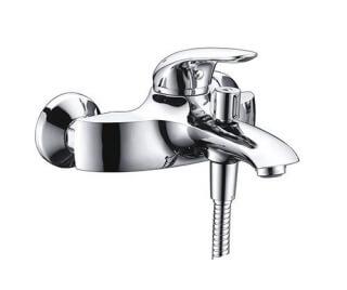Смеситель для ванны WasserKRAFT с коротким изливом Rossel 2801