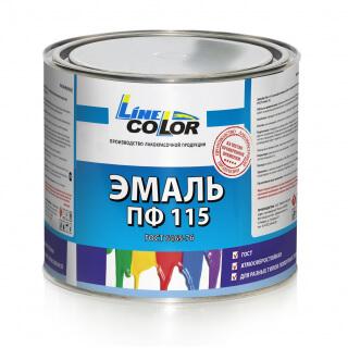 Эмаль ПФ-115 «Line Color» 2.4 кг Россия ГОСТ 6465-76