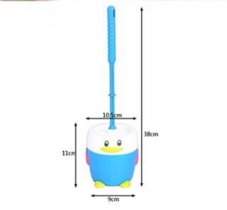 Ершик для унитаза ST SM-JX3063/BL голубой