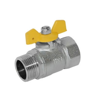 Кран газовый 3/4 дюйма 3602-GAS
