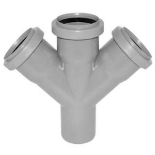 Крестовина канализационная РОССИЯ угол 45° D=50 (3713)