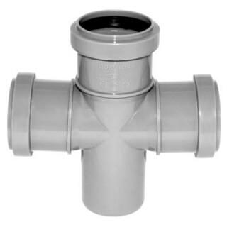 Крестовина канализационная РОССИЯ угол 90° D=50 (3714)