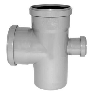 Крестовина канализационная 90° D=110/110/50 (3720)