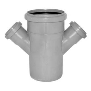 Крестовина канализационная 45° D=110/50/50 (3721)