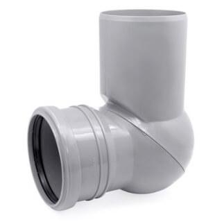 Отвод канализационный регулируемый D=110 3737 (U1NP)
