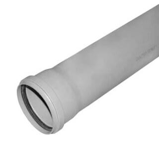 Труба канализационная РОССИЯ L=50см D=110 (3766)