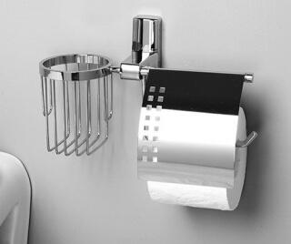 Держатель туалетной бумаги и освежителя WasserKRAFT К-5059
