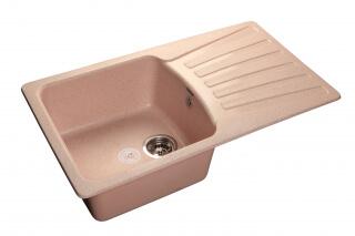 Мойка мрамор STANDART GF-S--850L GRANFEST светло-розовый