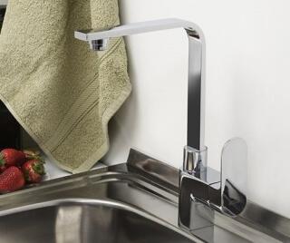 Смеситель для кухни WasserKRAFT с поворотным изливом Dinkel 5807