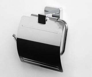 Держатель туалетной бумаги с крышкой WasserKRAFT К-6525