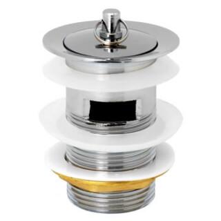 Выпуск (8956) в мойку с пробкой хром BL-207 ST SM 1-1/4 дюйма х 75