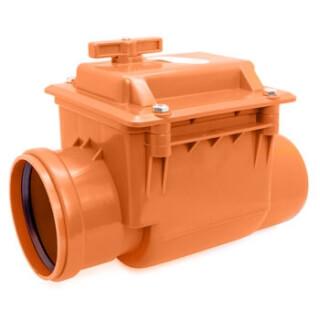 Клапан обратный канализационный РОССИЯ D=110 (9138)
