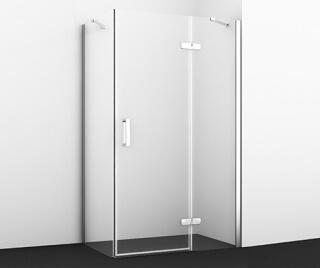 Душевой уголок WasserKRAFT Aller 10H06R прямоугольник, с правой распашной дверью