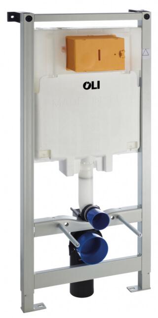 Инсталляция OLI 80 (0500/1150/0120), пневматическая + Панель слива KARISMA