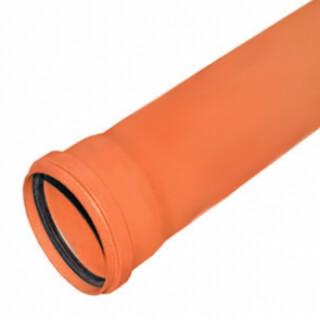 Канализационная труба РОССИЯ 160 мм х 200 см наружная