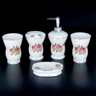 Набор для ванной комнаты керамика YU002-5