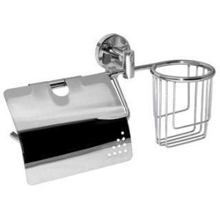 Держатель для туалетной бумаги и освежителя воздуха SM-P910