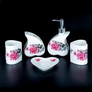 Набор для ванной комнаты керамика YU005-5