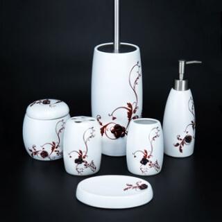 Набор для ванной комнаты ST B30006 керамика