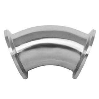 Кламп-отвод CLAMP 45° SSTC-C38 1-1/2 дюйма