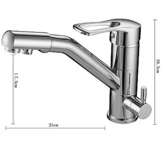 Смеситель для кухни MATRIX SMF-423607 2 в 1 с краном для питьевой воды