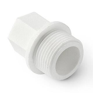 Полипропиленовая заглушка резьбовая W-E25M4 25х3/4 дюйма НР
