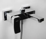 Смеситель для ванны WasserKRAFT с коротким изливом Aller 1061