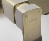 Смеситель для ванны WasserKRAFT с длинным изливом  Exter 1602L