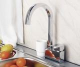 Смеситель для кухни WasserKRAFT с поворотным изливом Aller 1067