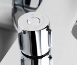 Смеситель для ванны WasserKRAFT с коротким изливом Lossa 1201