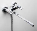 Смеситель для ванны WasserKRAFT с длинным изливом Lossa 1202L