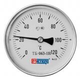 Термометр горизонтальный МЕТЕР Дк63 1/2 дюйма (L=60)