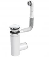 Сифон Prevex для раковины Easy Clean хром металл № 1, с переливом