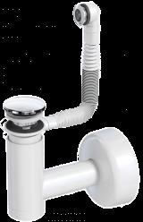 Сифон для раковины PREVEX Easy Clean металл 1511404