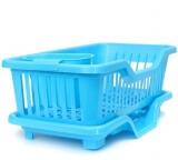Подставка для посуды с режимом слива воды SM-KT001/BL