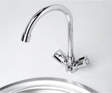 Смеситель для кухни WasserKRAFT с поворотным изливом Amper 2907