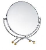 Зеркало косметическое настольное L1807X3 D=18 см