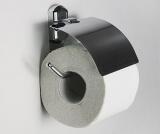Держатель туалетной бумаги с крышкой WasserKRAFT K-3025