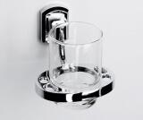 Подстаканник стеклянный WasserKRAFT K-3028