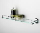 Полка стеклянная с бортиком WasserKRAFT K-3044